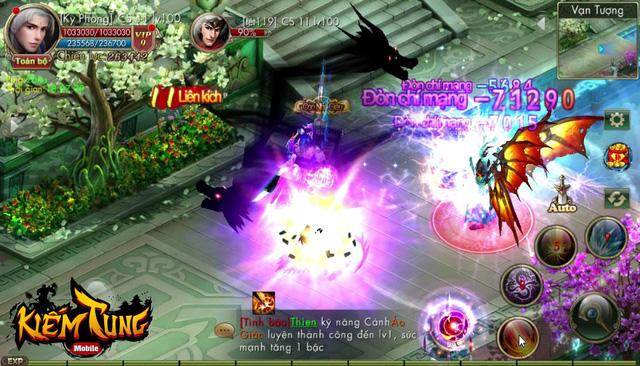 Kiếm Tung Mobile cũng có tính năng PK rớt đồ giống MU Online