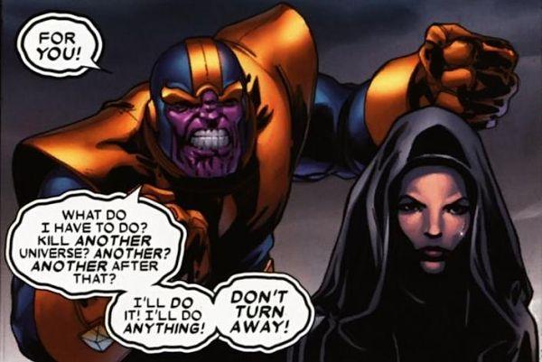 Thật sự quá bất ngờ, Thanos muốn chiếm cả vũ trụ này chỉ để tặng một người phụ nữ!